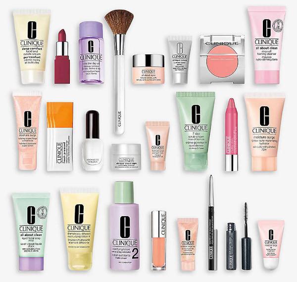 Contents: 24 Days of Clinique Beauty Advent Calendar 2020