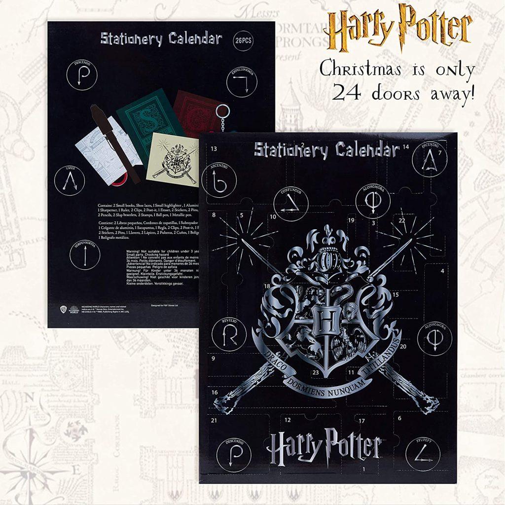 Harry Potter Stationery Advent Calendar 2020