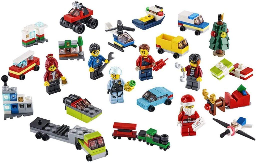 Contents: LEGO City 60268 - Advent Calendar New 2020 (342 pieces)
