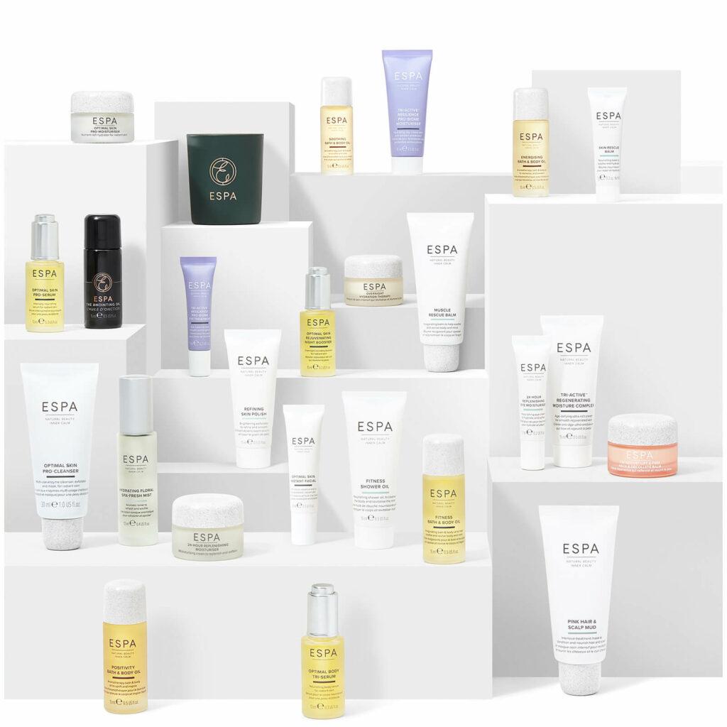 Contents: ESPA No Place Like Home Beauty Advent Calendar 2020