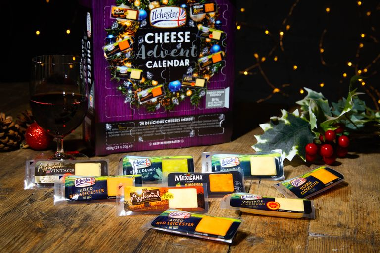 Contents: Ilchester Cheese Advent Calendar 2020