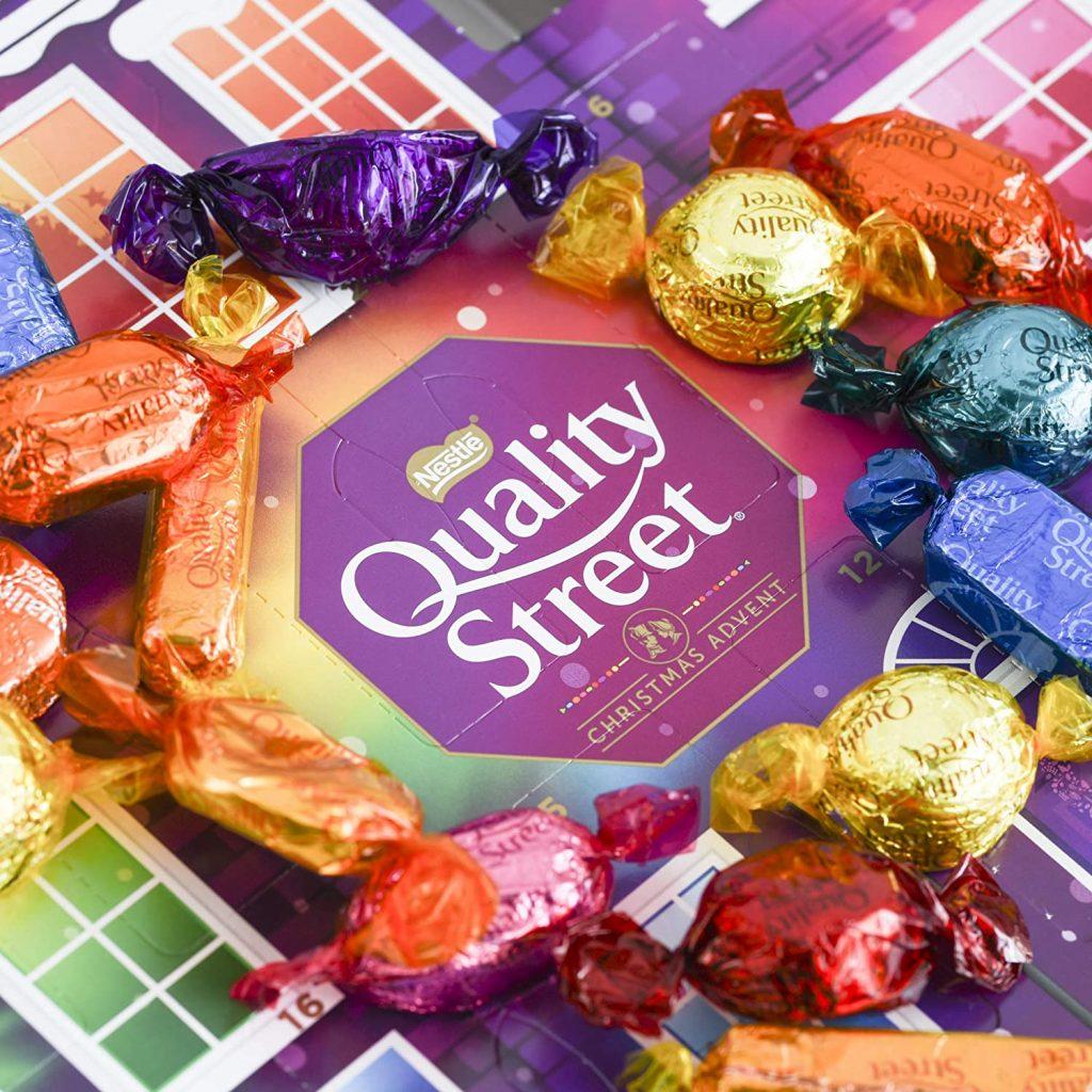 Contents: Quality Street Advent Calendar 2020