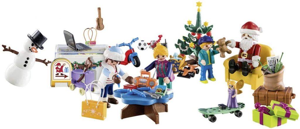 Contents: Playmobil 70188 Christmas Grotto Advent Calendar 2019