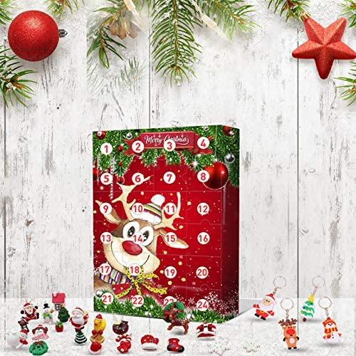 Contents: Christmas Elk Advent Calendar 2020