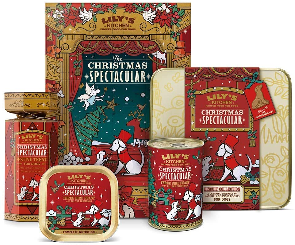 Contents: Lily's Kitchen Dog Spectacular Advent Calendar 2018
