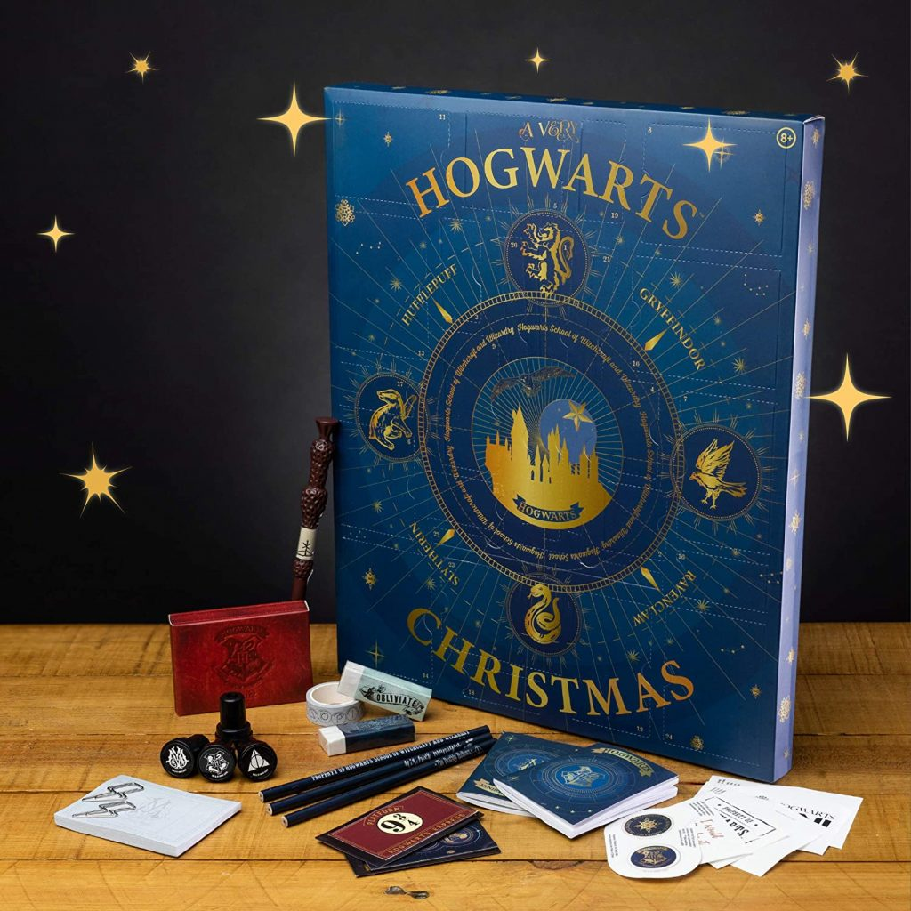 Contents: Paladone Harry Potter Hogwarts Advent Calendar 2020