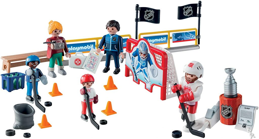 Contents: Playmobil Advent Calendar: NHL Road to the Stanley Cup 2020