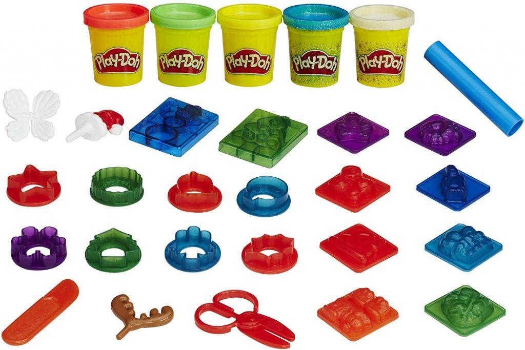Contents: Play-Doh Advent Calendar 2016
