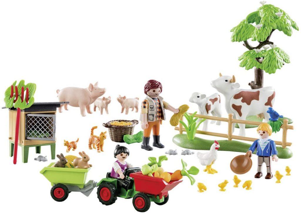Contents: Playmobil 70189 Country Farm Advent Calendar 2019