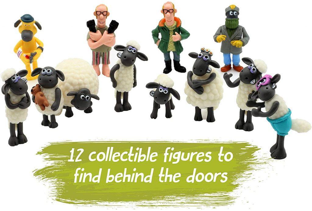 Content: Shaun the Sheep Kids Advent Calendar 2018