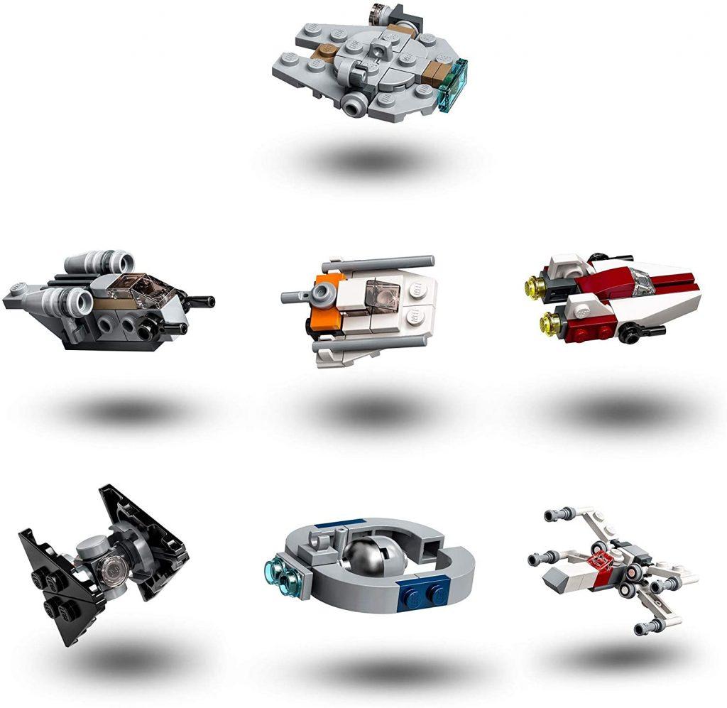 Contents: LEGO 75279 Star Wars Advent Calendar 2020