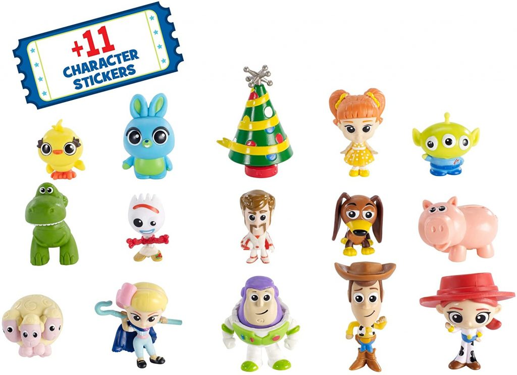 Content: Disney Pixar Toy Story 4 Kids Advent Calendar 2019