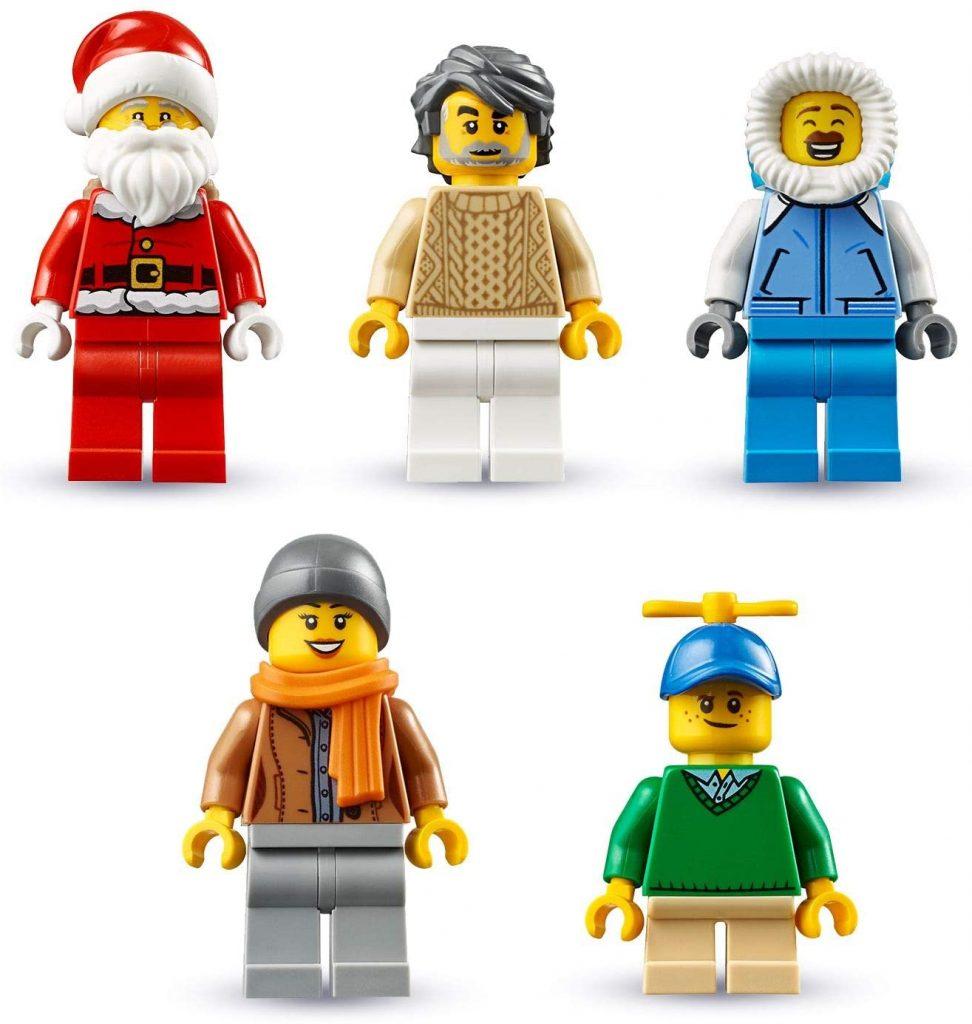 Contents: LEGO 60235 City Advent Calendar 2019