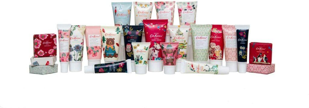 Contents: Cath Kidston 2020 Christmas Beauty Advent Calendar