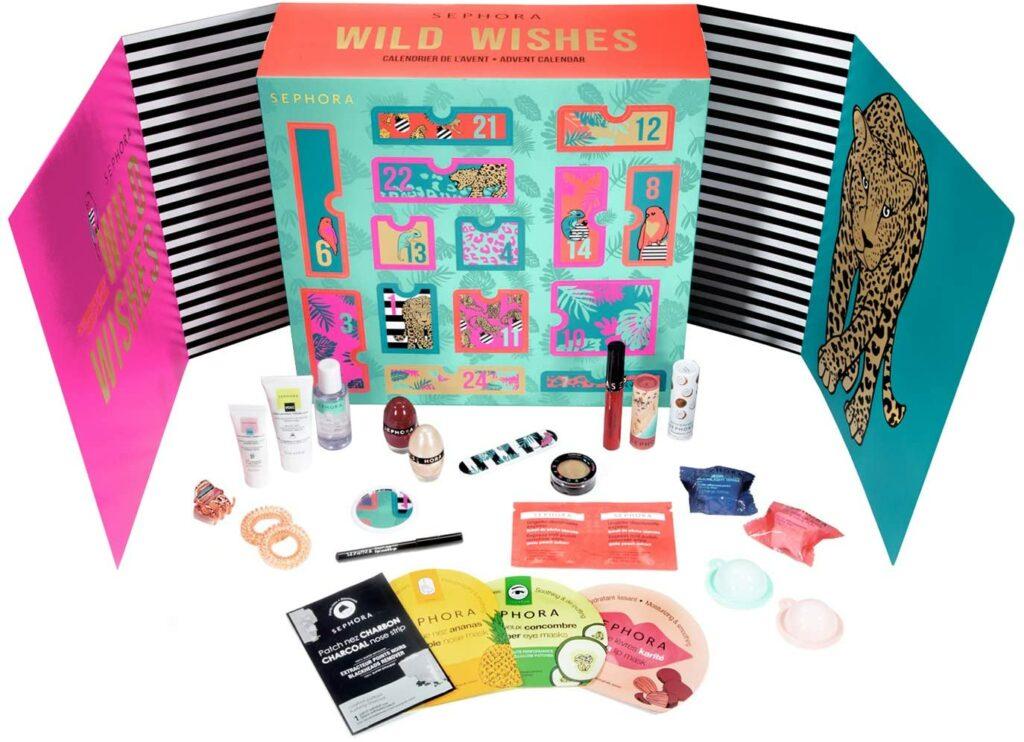 Contents: Sephora Wild Wishes Advent Calendar 2020