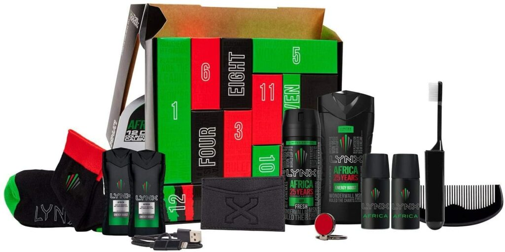 Contents: Lynx Africa 12 Day Countdown Advent Calendar 2020