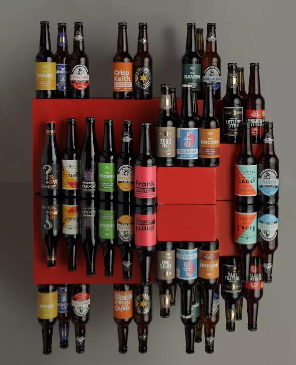 Contents: John Lewis & Partners Beer Advent Calendar 2020