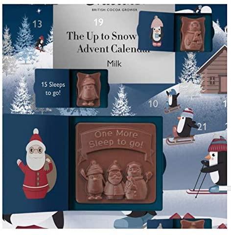 "Contents: Hotel Chocolat ""Up to Snow Good"" Children's Advent Calendar 2020"