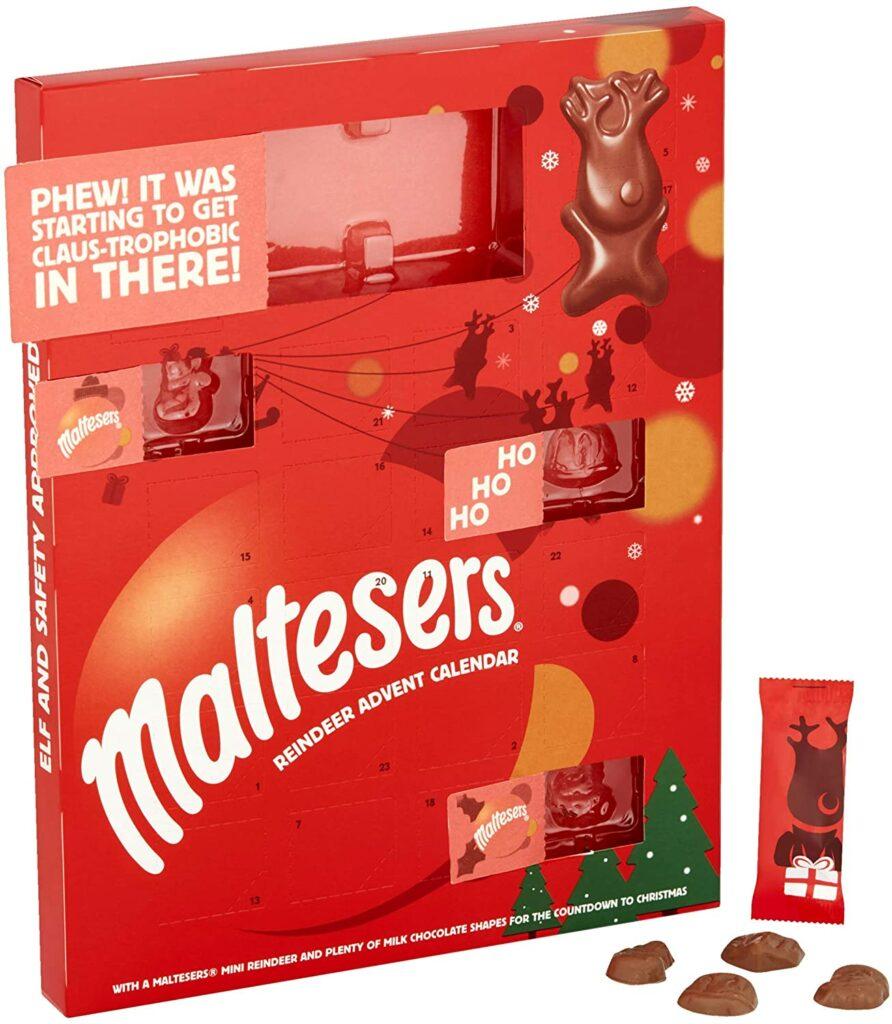 Contents: Maltesers Reindeer Chocolate Advent Calendar 2016