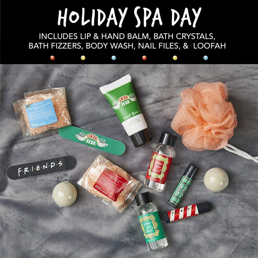 Contents: Friends Central Perk 12 Days of Bath and Body Advent Calendar 2020