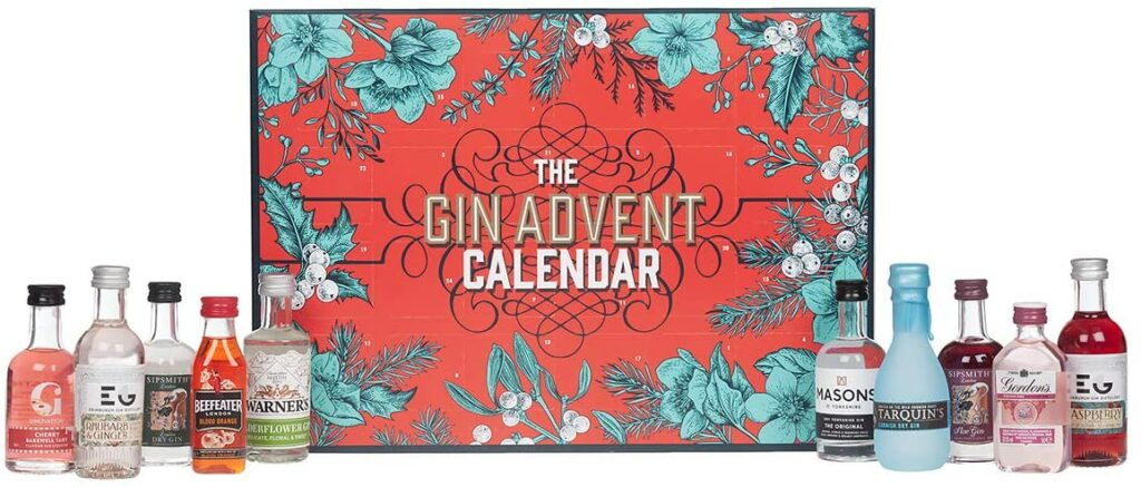 Contents: Blue Tree Gifts 929 Gin Advent Calendar 2020