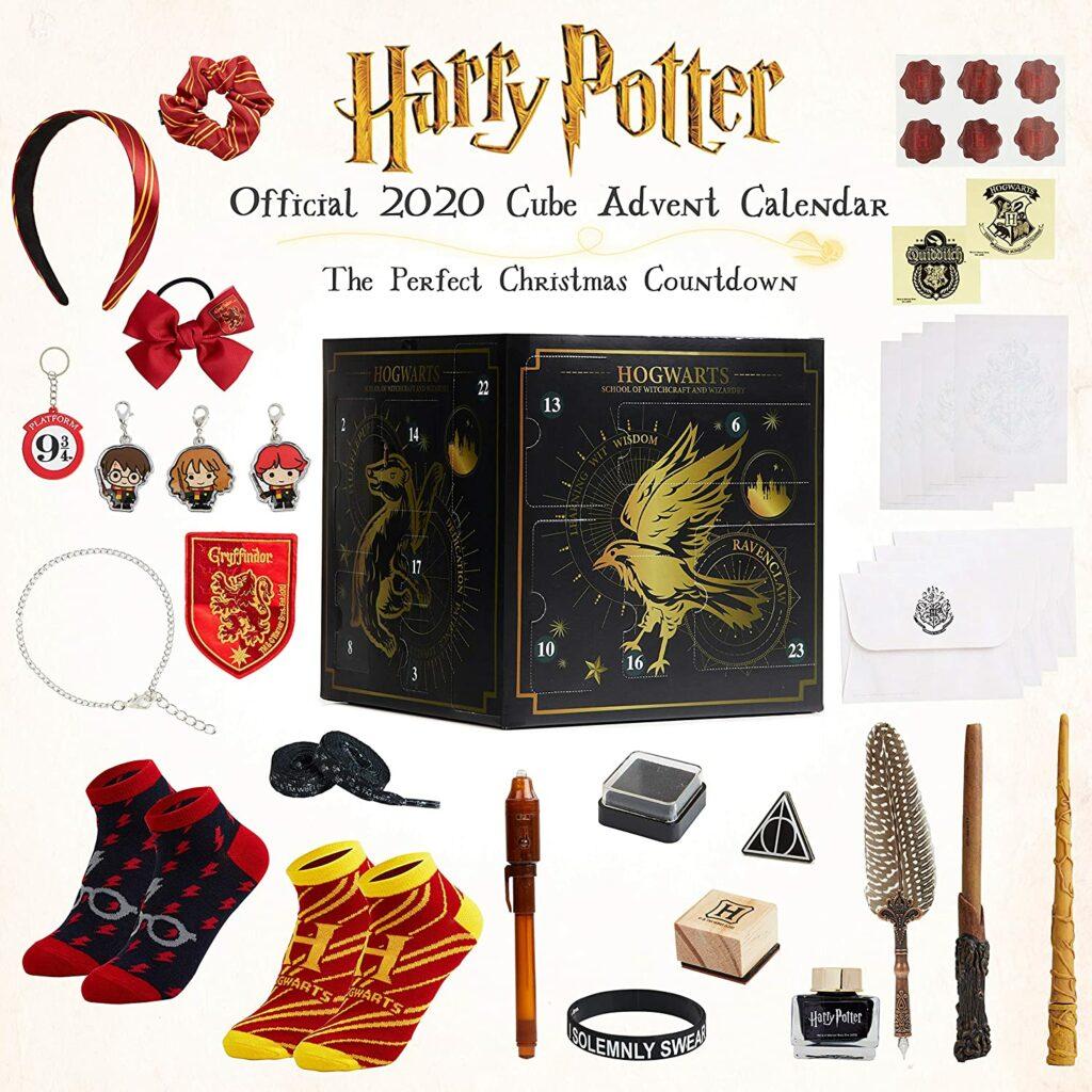 Contents: Harry Potter Cube Advent Calendar 2020