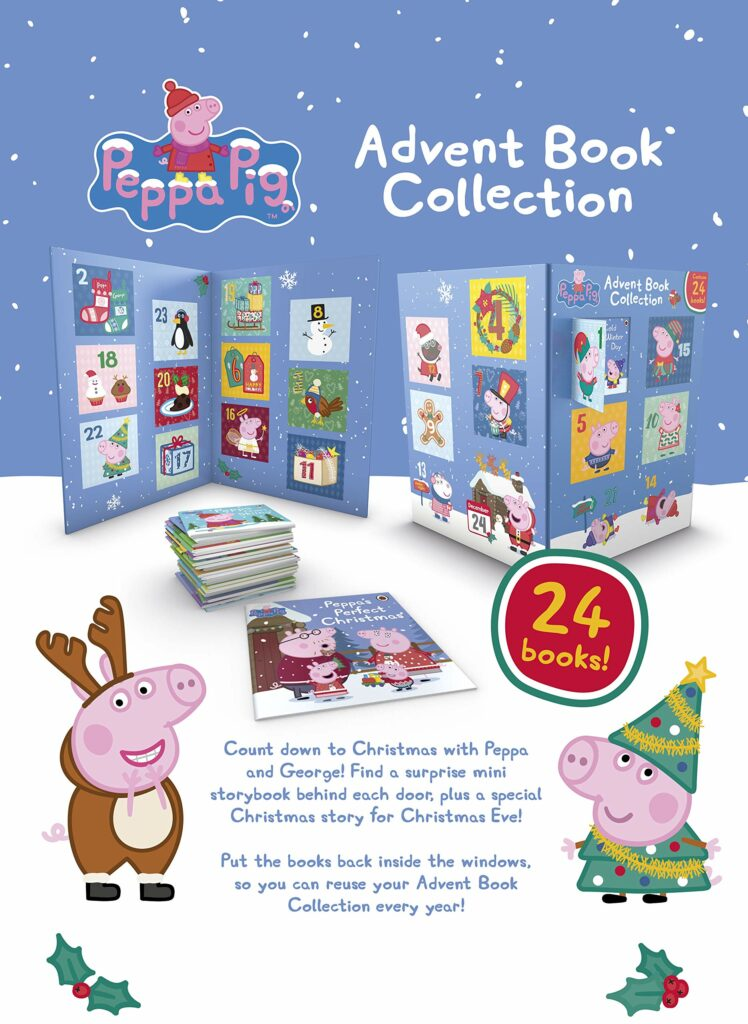 Contents: Peppa Pig Advent Book Collection 2020