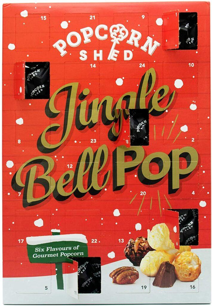 Contents: Popcorn Shed Gourmet Popcorn Advent Calendar 2020