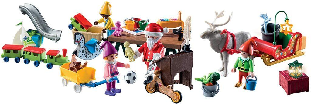 Contents: Playmobil 9264 Advent Calendar 'Santa's Workshop' 2017