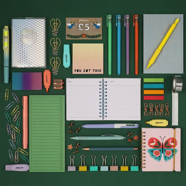 Contents: Paperchase Stationery Advent Calendar 2020