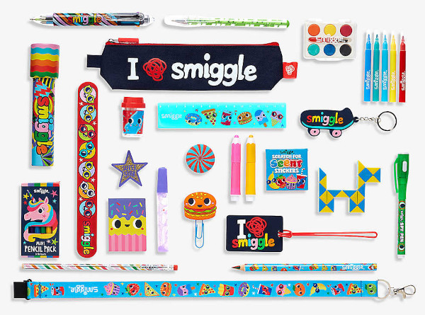 Contents: SMIGGLE Stationery Advent Calendar 2020