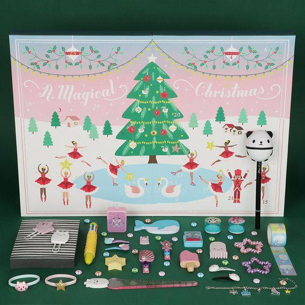 Contents: Paperchase Sugar Plum Fairy Advent Calendar 2020