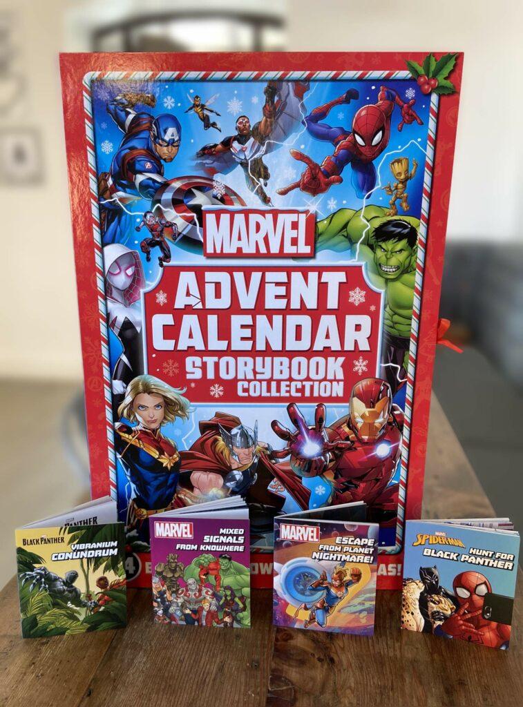 Contents: Marvel Book Advent Calendar 2020