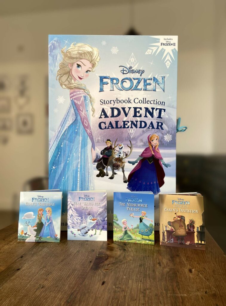 Contents: Disney Frozen Storybook Collection Advent Calendar 2020