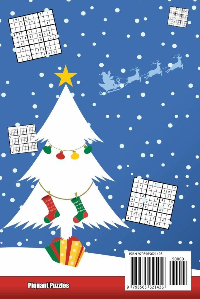 Contents: Piquant Puzzles Sudoku Advent Calendar 2020