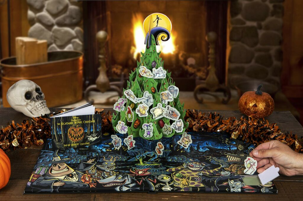 Contents: Disney Tim Burton's The Nightmare Before Christmas Pop-Up Book and Advent Calendar 2020
