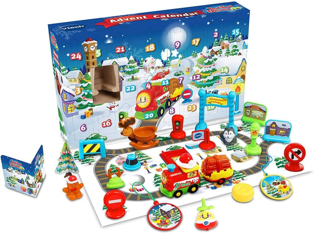 Contents: VTech Baby Toot-Toot Drivers Advent Calendar 2015