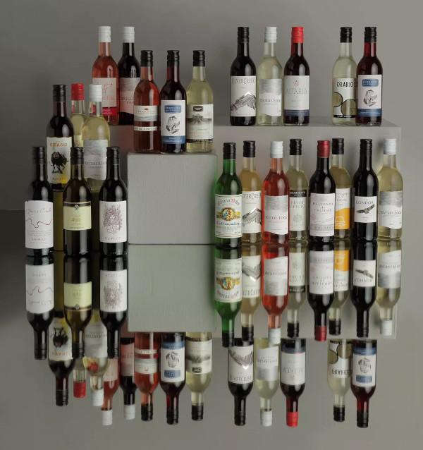 Contents: John Lewis & Partners Wine Advent Calendar 2020