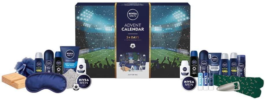 Content: Nivea Men Advent Calendar 2021 with 24 pampering essentials