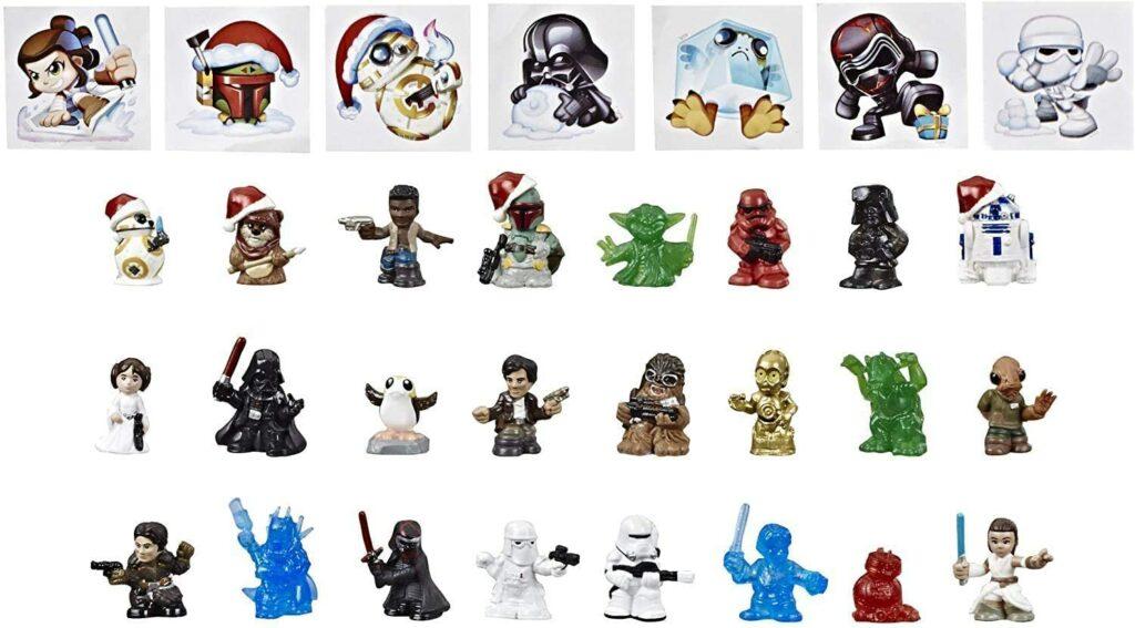 Content: Star Wars Micro Force Mini Figure Advent Calendar