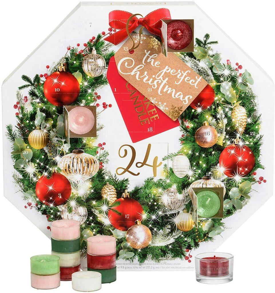 Yankee Candle Advent Calendar Winter Wreath Gift Set