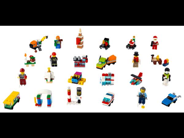 Content:  LEGO City Advent Calendar (60303) toy playset
